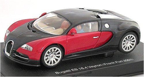 AUTOart 1/32 スロットカー ブガッティ EB 16.4 ヴェイロン (ブラック・レッド) 完成品