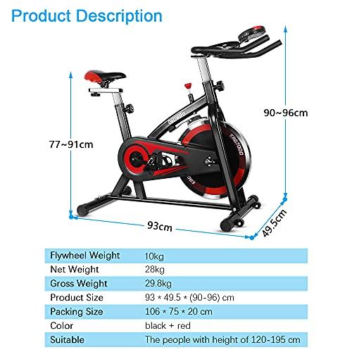 OneTwoFit Bicicleta Spinning
