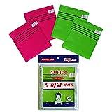NOPIGO FOUBA The Original Korean Exfoliating Mitt Body Scrub Green 2 Red 2