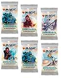 6 (Six) Packs - Magic: the Gathering - MTG: Dominaria Booster Packs (6 Pack - 2 Player Draft Lot)
