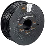 AmazonBasics ABS 3D Printer Filament, 2.85mm, Black, 1 kg Spool