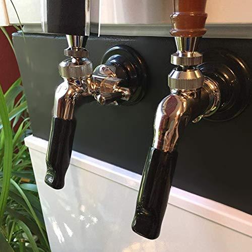 Jeankak Tapa de la Cubierta del Grifo de la Cerveza, Tapas de la Llave del Grifo de la Cerveza, Guarde para los grifos de la Cerveza con 15 mm de diámetro Externo Su producción de Cerveza Higiene