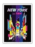 David Klein New York – Times Square – Fly TWA (Trans