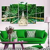 Impressions sur Toile 5 Parties Murale Decoration Artistique Photo Image Festival...