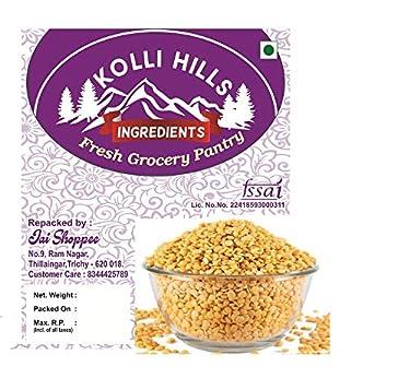 Toor Dal / Thuvaram Paruppu / Dal / 100% Natural Organic Grocery and Pantry ( 500g )