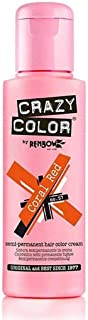 Crazy Color Semi-Permanent Hair Dye - Coral Red