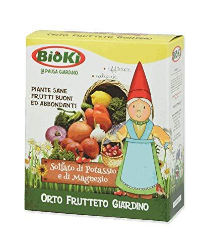 Bioki 33-16 Solfato di Potassio e Magnesio Naturale per Agricoltura