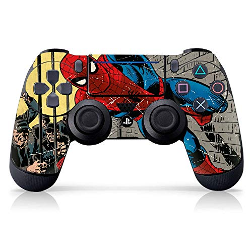 Controller Gear Marvel Comics - Spider-Man - Escape Impossible - PS4 Controller Skin (Controller Sold Separately) - PlayStation 4