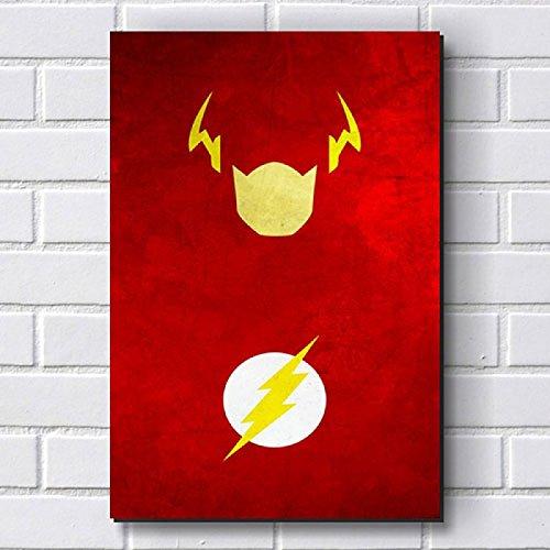 Placa Decorativa em MDF com 20x30cm - Modelo P37 - The Flash
