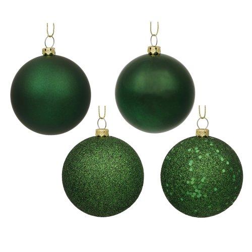 Vickerman 6' Emerald 4 Finish Ball Ornament 4 per Box