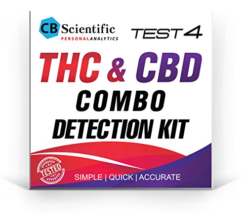 THC/CBD Combo Detection KIT