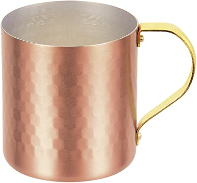 パール金属 マグ カップ 300ml 純銅槌目 プレミアム贅 日本製 ゴールド HB-3483