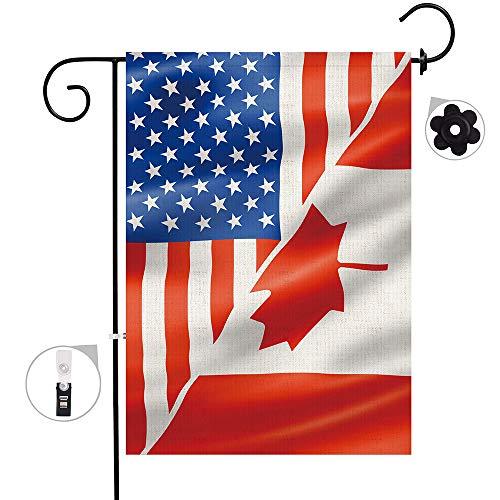 us canada flag - 6