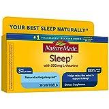 Nature Made Sleep 3mg Melatonin + 200mg L-theanine, 30 Softgels
