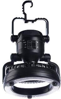 キャンプランタン - Delaman ファンライト、18 ledライト、扇風機 付き、乾電池式、2.5W、アウトドア、釣り、キャンプ、防災、避難、停電 用 ランプ
