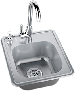 SUNSTONE A-SS17 Single Sink with Hot and Cold Water