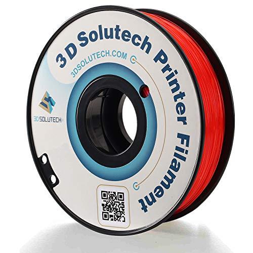 3D Solutech See Through Blue 3D Printer PLA Filament 1.75MM Filament 2.2 LBS 1.0 KG - 3DSPLA175STBLU