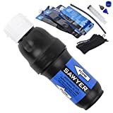 Sawyer Products SP131 Squeeze Water Filtration System with Three Pouches