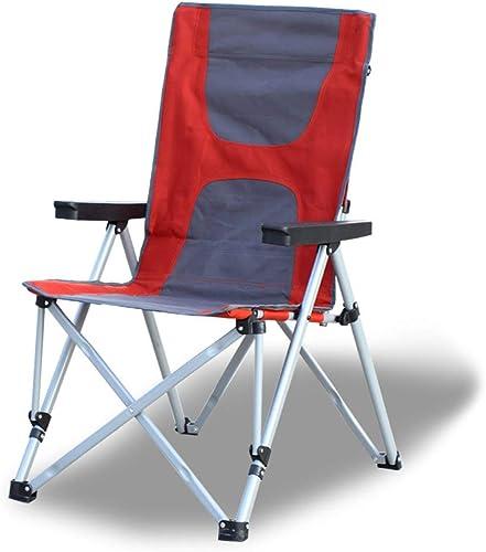 AYLS Extérieure Arrière Réglable Chaise Portable Plage Chaise Camping Pêche Chaise Pliante Chaise Réalisateur