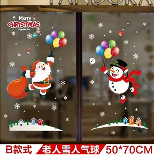 Zfkdsd Paste Wandaufkleber Wand Weihnachtsdekoration Liefert Layout Szene Klassenzimmer Klasse Laternen Fenster Maßeinheit: Cm