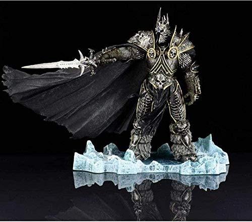 Mezzogiorno Anime Model World of Warcraft Lich King Arthas Death Knight Boxing Game Figure