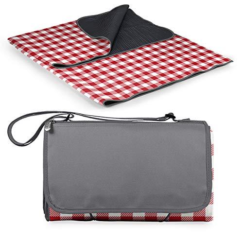 ONIVA - a Picnic Time Brand Outdoor-Picknickdecke Tragetasche XL, rot/weiß kariert