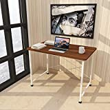 Stable: Black metal legs are reinforced by a strong l shape bar below the tabletop to ensure stability and sturdiness, cross legs help to support table stability Color disclaimer : When selecting the colors for your product, itâ??s important to note ...