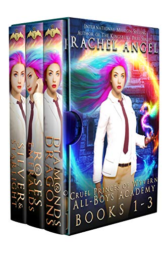 Cruel Princes of Wyvern All-Boys Academy Complete Box Set (Books 1 - 3): A Bully Romance Fantasy Why Choose Shifter Series (English Edition)