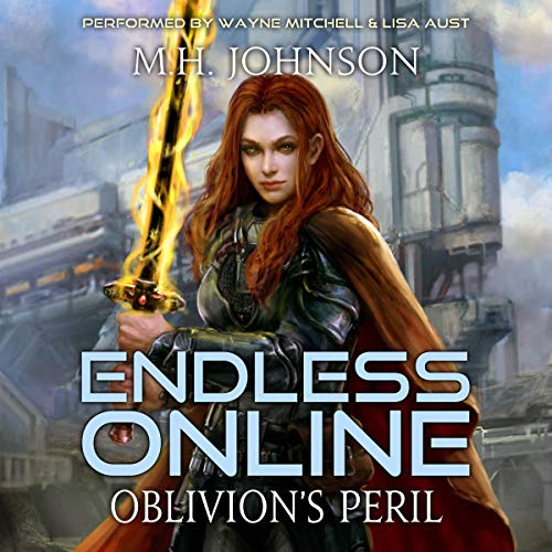 Oblivion's Peril audiobook cover art