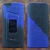 ModShield for Sigelei Fuchai Duo 3 175W & Duo-3 255W TC 2 Cover Version - 2 / 3 Battery Options Silicone Case ByJojo Shield Cover Wrap Skin (Purple/Black 2)