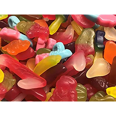 vegan jelly & gummy sweet assortment (500g) Vegan Jelly & Gummy Sweet Assortment (500g) 51fsHDBLO L
