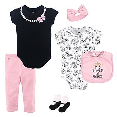 Hudson Baby Unisex Baby Cotton Layette Set, Princess, 0-3 Months