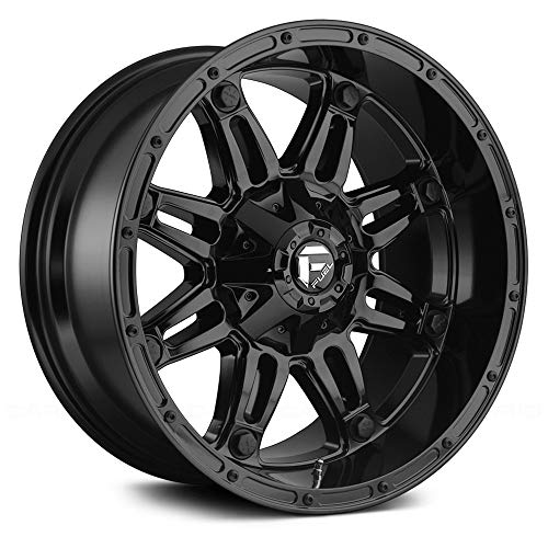 FUEL Hostage BL -Gloss BLK Wheel with Painted (20 x 10. inches /8 x 165 mm, -18 mm Offset)