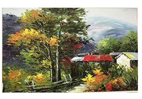 1000 Stück Holzpuzzle Für Erwachsene - Boot/Kamel Morgen Schnee/Blue Plain Sailing/Dunkelblauer Baum/Epoptic Yellow Natural Village 50X75Cm