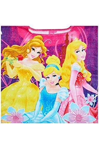Toalla de poncho para baño y playa con licencia oficial de Disney Princess Kids Girls - Nuevo 2017