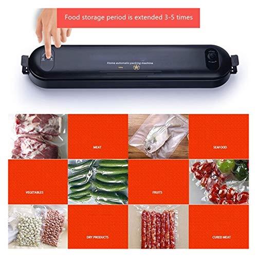 Machine Sous Vide Alimentaire, Scellant sous vide, machine d'emballage de scellage à vide électrique pour la cuisine à la maison, y compris 5pcs Sacs d'économie d'aliments Sacs à vide commercial Scell