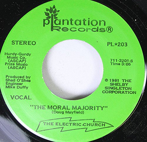Doug Mayfield 45 RPM The Moral Majority / Bumper Stickers