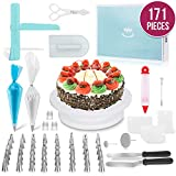 MERRI Cake Decorating Supplies 171 Pcs| Includes All Essential Baking Supplies & Pastry Tools -...