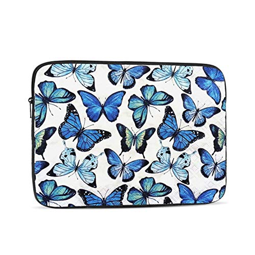 Designed to Fit Any Laptop//Notebook//ultrabook//MacBook with Display Size 11.6 Inches Butterflies Pattern Neoprene Sleeve Pouch Case Bag for 11.6 Inch Laptop Computer