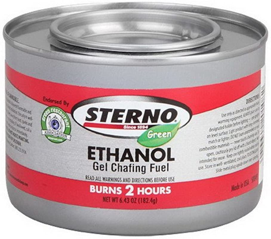 Sterno Candle Lamp Power Heat Plus 2 Hr Chafing Fuel Green 24 Case