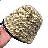 MAOZIm Sombrero de cubo de felpa europeo y americano retro pescador sombrero de moda otoño e invierno cálido sombrero de cuenca
