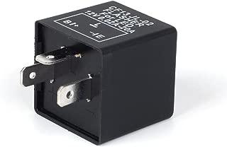 JDM ASTAR 3-Pin CF-13 Electronic Flasher Relay Fix For LED Turn Signal Light Bulbs