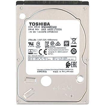 東芝 MQ04ABD200-2YW 2TB アマゾン限定モデル 2年保証 SATA 3Gbps対応 2.5型 内蔵ハードディスク