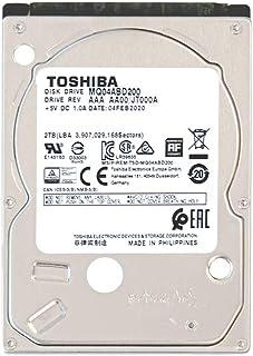 東芝 内蔵HDD 2.5インチ 2TB PCモデル MQ04ABD200-2YW 【国内正規代理店品】2年保証 SATA 6Gbps対応