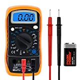 WeePro Vpro850L Digital Multimeter DC AC Voltmeter, Ohm Volt Amp Test Meter, Electric Tester...