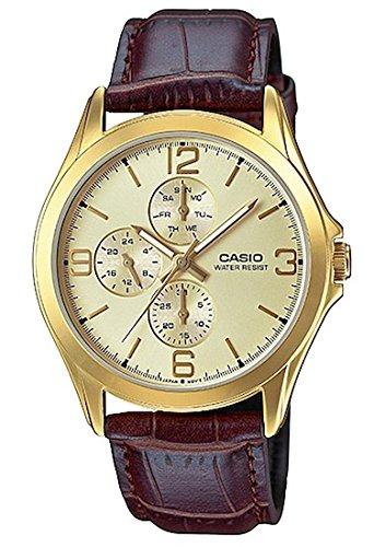 Casio Reloj con Movimiento Cuarzo japonés Man Mtp-V301Gl-9A 39.0 mm