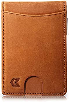 Minzaam USA Men's Slim Leather Wallet
