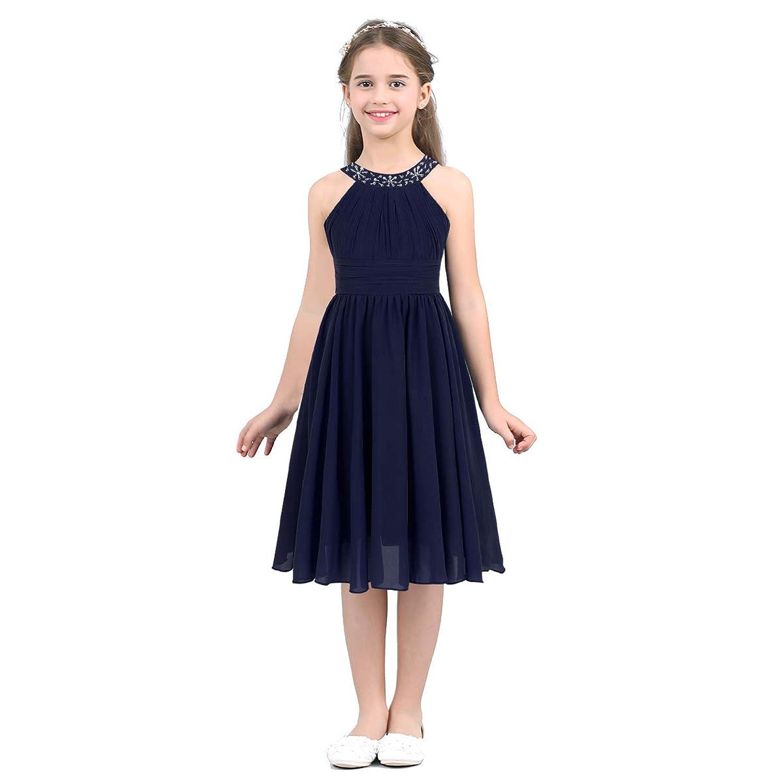 (アゴキー) Agoky 子供ドレス キッズドレス ワンピース パーティードレス 膝丈 フォーマル ピアノ 発表会 結婚式 ページェント プロムボールドレス 洋服