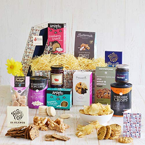 Gluten Free Supreme Hamper - Luxury British Gift Hamper - Gift Card Included