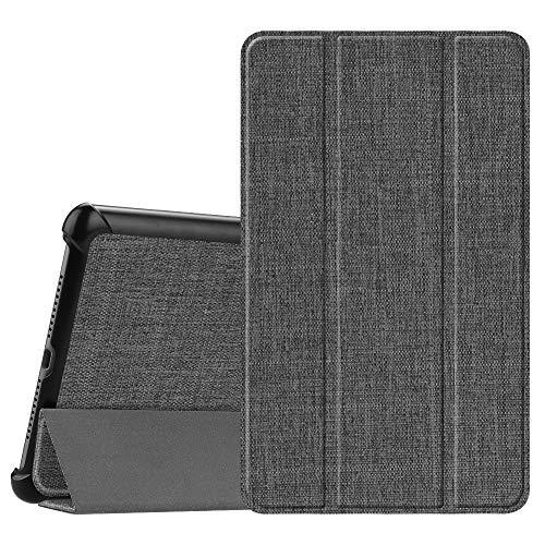 """Fintie Hülle Case für Huawei Mediapad M5 8 Tablet - Ultra Dünn Superleicht SlimShell Ständer Case Cover Schutzhülle Auto Sleep/Wake Funktion für 8,4"""" Huawei MediaPad M5 21,34 cm, Jeansoptik dunkelgrau"""